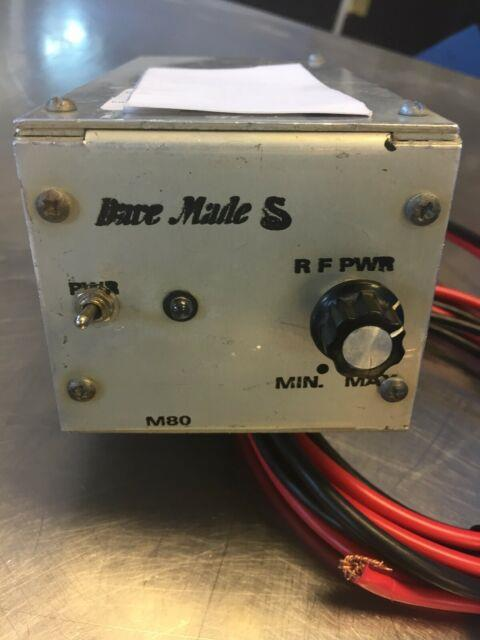 Dave Made M80 2 Pill Cb/ham Amplifier Fatboy Xforce With Connecting Cable Bundle