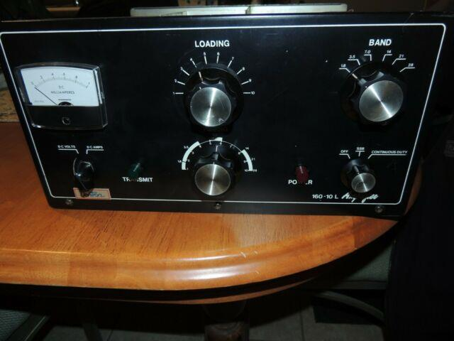 Dentron 160-10l Ham Radio Hf Amateur Linear Amplifier 572b Tube Valve 2kw