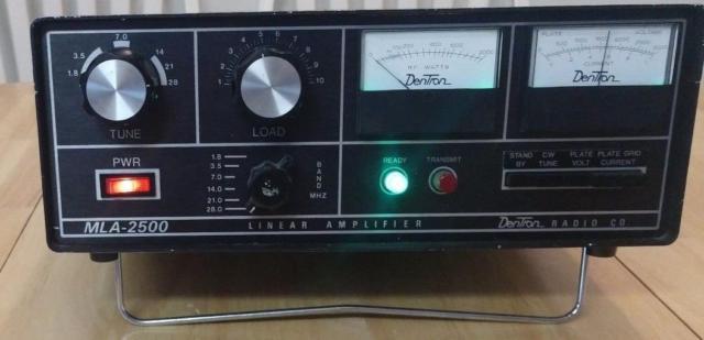 Dentron Mla-2500 Linear Amplifier Cb Ham Radio Desk Amplifier