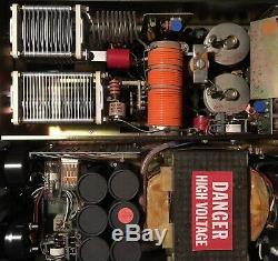 Dentron MLA-2500 Linear Amplifier ham tube radio amp 220V Nice Shape, Powers Up