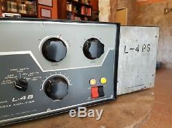 Drake L4B HF Linear Amplifier, L4PS Power Suply. Manuals. WORKING GOOD