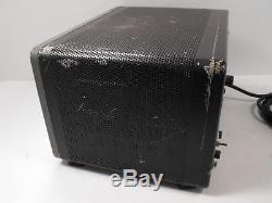 EF Johnson Viking Courier Vintage Ham Radio Amplifier + 2x 811A Tubes SN Unknown