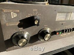 ETO ALPHA 76A HF LINEAR AMPLIFIER AMATEUR HAM RADIO AMP As Is