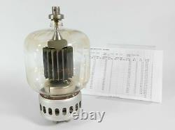 Eimac 4-1000A Vacuum Tube for Ham Radio Amplifier with Test Report (85% output)