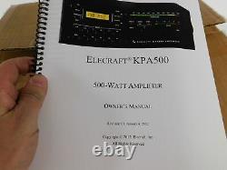 Elecraft KPA-500 Ham Radio Amplifier (new in factory sealed box)