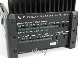 Elecraft KXPA100 Ham Radio Amplifier with Tuner + Manual + Cable (great condition)