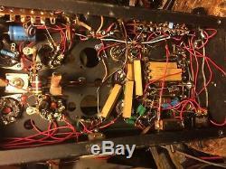Elkin 4 tube Linear Amp, 10 Meter, Ham amp, VERY GOOD CONDITION LOOK