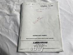 Estate AMERITRON AL-572 AMPLIFIER (one owner) ptr