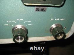Estate Sale Heathkit Linear Amplifier SB-200 Ham Radio Equipment As Is