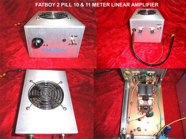Fatboy 2 Pill Linear Amplifier For 10 & 11 Meters W / Toshiba Power Transistors