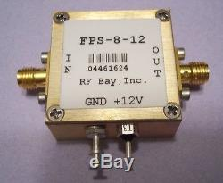 Frequency Prescaler DC-12.0GHz Div 8, FPS-8-12, New, SMA