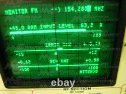 GE P3AK6AG VHF RF Power Amplifier. Working