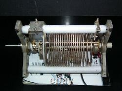 GIANT VARIABLE ROLLER INDUCTOR COIL HF POWER AMPLIFIER TUNER HI Quality