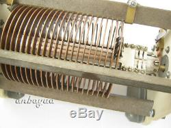 GIANT VARIABLE ROLLER INDUCTOR COIL -RF LINEAR AMPLIFIER -ANTENNA TUNER No. 14