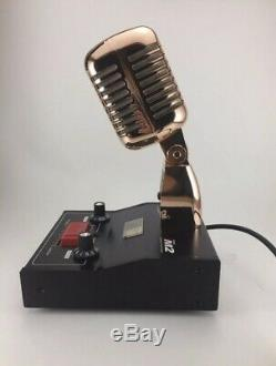 GOLD 8 PIN for ICOM IC718 DELTA M2 AMPLIFIED POWER BASE MICROPHONE HAM RADIO
