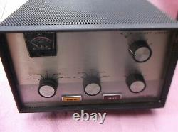 Galaxy 2000 ham radio Linear Amplifier and Original Manual. PARTS ONLY READ ADD