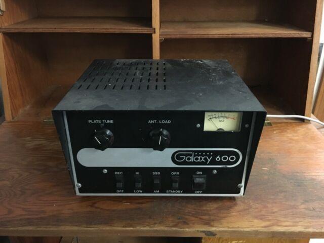 Galaxy 600 10 Meter Amp
