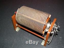 Giant Variable Roller Inductor Coil Hf Power Amplifier Antenna Tuner Qro