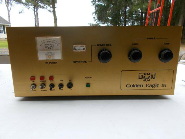 Golden Eagle 1k Linear Amplifier In Clean Condition, Parts Or Repair