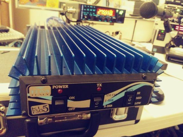 Good Linear Amp. Mint! Italy Rm 7505