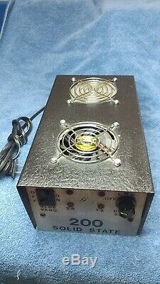 Gray Solid State 200 10 meter Bi Linear Amplifier