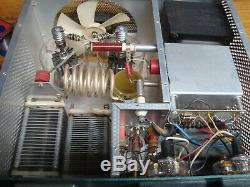 HEATHKIT SB-220 HF LINEAR AMPLIFIER with EIMAC 3-500Z TUBES GOOD WORKING CONDITION