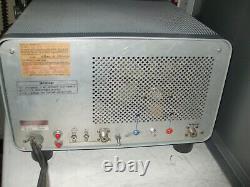 HEATHKIT SB-221 HF Linear Amp with GI-7BT Ceramic Triodes