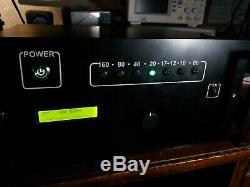 HF & 6M ALL BAND 500 watt LINEAR amplifier DXWORLD LDMOS & PSU