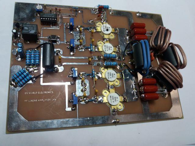 Hf Linear Amplifier 1000w 160-10m With Auto Bias
