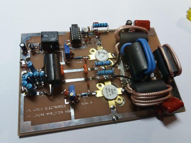 Hf Linear Amplifier 500w 1.5-30mhz With Auto Bias