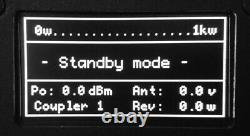 HF VHF Power SWR PWR Meter digital tandem match bridge