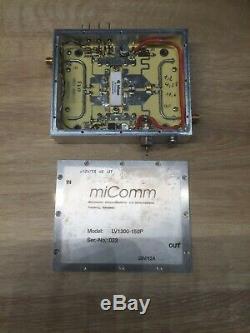 HF-Verstärker 1,3 GHz 50 W 28V G14dB, PA Endstufe 23 cm Band