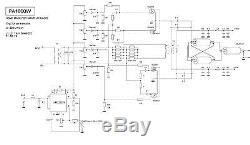 Hf Power Amplifier W Mosfet Vrf Sd Kw Cwithssb Without Transistors Ba on Ameritron Al 811 Schematic