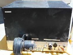 Ham Radio 80-10 Meter Homebrew Amplifier with Dual 4-1000A Tubes (well built)