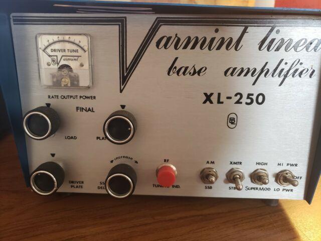 Ham Radio Amplifier Varmint Xl-250