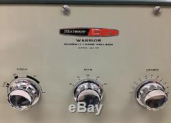 Heathkit Daystrom Warrior HA-10 Desktop Shortwave Linear Amplifier #8373