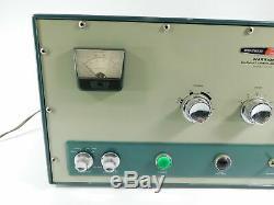 Heathkit HA-10 Warrior Vintage Ham Radio Amplifier (looks good, powers on)