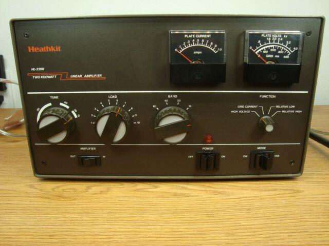 Heathkit Hl-2200 With Eimac 3-500z Tubes 80-10 Meters Equivalent To Sb-220