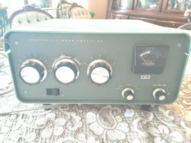 Heathkit Linear Amplifier Ham Ssb 200