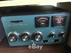 Heathkit Linear Amplifier SB-220 with 3-500Z Tubes