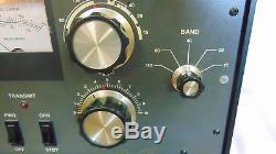 Heathkit SB-1000 1kW HF Amplifier with 3-500Z Tube Has 10M Mod 120VAC-Has Issues