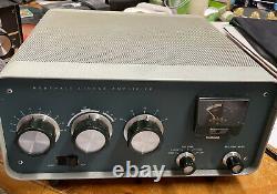 Heathkit SB 200 Linear Amplifier Power Supply Powers Up Ham Radio