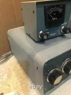 Heathkit SB-200 Linear Amplifier Radio Swr Meter HM-102 Hm-2102 Meter (#53)