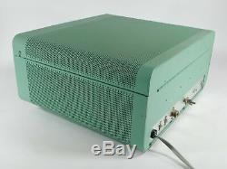 Heathkit SB-200 Vintage Ham Radio 572B Tube Amplifier (looks great, powers up)