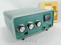 Heathkit SB-200 Vintage Ham Radio Amplifier with Cetron 572B Tubes + Manual