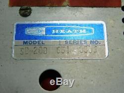 Heathkit SB-200 Vintage Ham Radio Amplifier with Cetron 572B Tubes SN 651-8806
