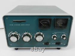 Heathkit SB-220 Ham Radio Amplifier with Eimac 3-500Z + Harbach Mods (works great)