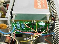 Heathkit SB-220 Vintage Ham Radio Amplifier with Harbach Mods (no tubes, untested)