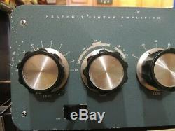 Heathkit sb200 ham amateur radio hf amplifier 572b tube valve