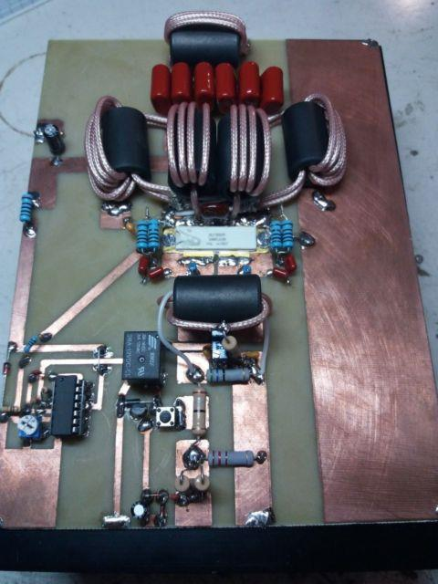 Hf Linear Amplifier 1200w Blf188xr Ldmos